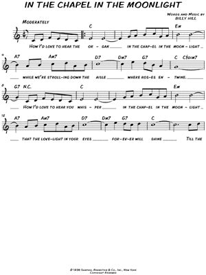 """The McCoys """"Hang on Sloopy"""" Sheet Music (Leadsheet) in C"""