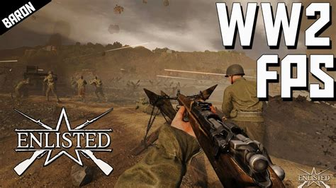 WW2 Shooter! ENLISTED, Gaijin's First Person Shooter - YouTube