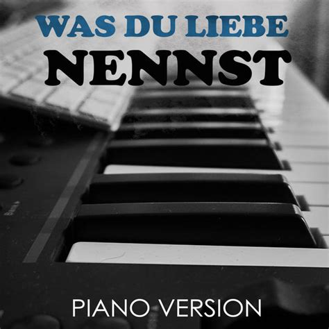 Was Du Liebe Nennst (Tribute to Bausa)   Pop Piano to