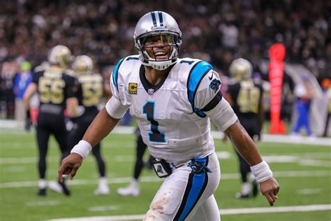 Cam Newton was inconsistent in 2017, and his supporting