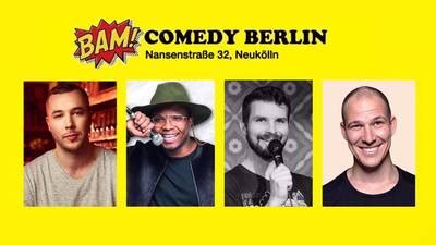"""Gratis in Berlin - """"BAM! Comedy Show"""" -Stand Up in"""