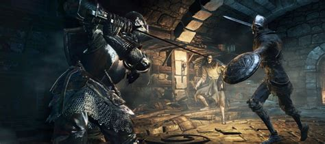 Dark Souls 3 gameplay shows off the Knight and Cleric