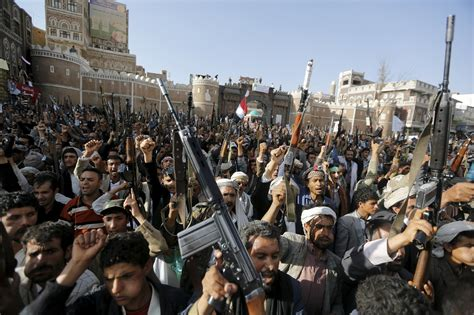Yemen violence: 35 reported dead after airstrikes hit