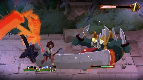 Gorgeous Hand-Drawn RPG Indivisible Continues To Impress