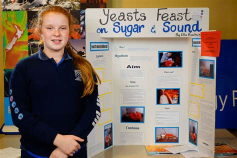 Yeast project excels at Auckland science fair   NIWA