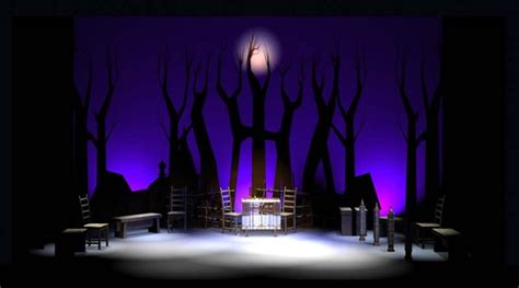 Set Design: How to cut a big musical down to size