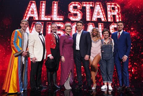 All Star Musicals celebrity line up, judges, host and air