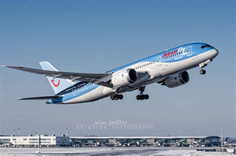 Special visitors at Brussels Airport this morning as TUI