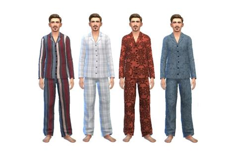 History Lover's Sims Blog: Early 1900's Style Men's Pajama