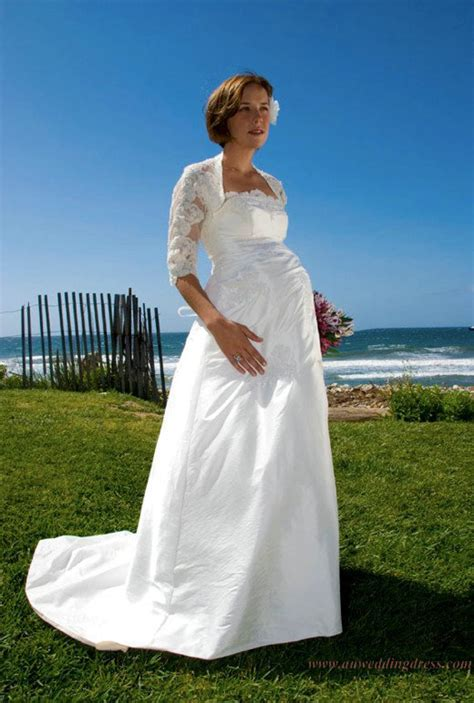 Maternity Wedding Dresses Gone are the Days of the
