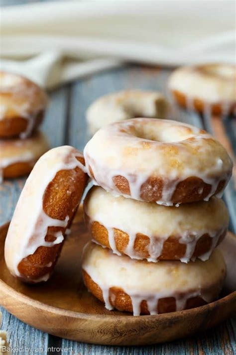 Baked Old Fashioned Donuts - i am baker