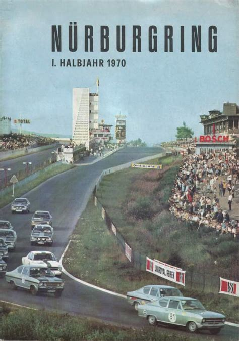 Nürburgring Magazines   The Motor Racing Programme Covers