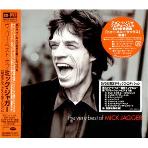 Mick Jagger The Very Best Of Mick Jagger Japanese 2-disc