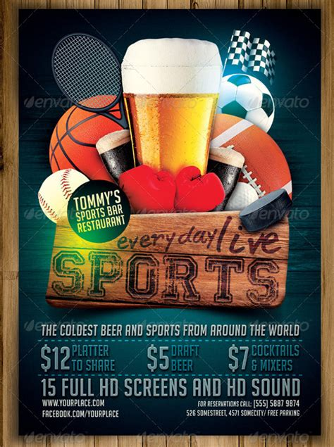 FREE 18+ Bar Flyer Templates in PSD   Vector EPS